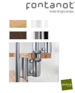 Lille trappe med moderne design